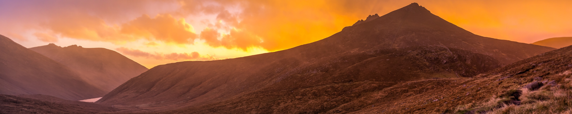 Mournes mountains