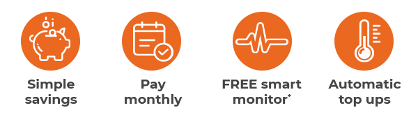 Benefits of Connected - the monthly payment service